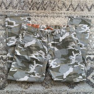 Dockers Alpha Slim White Camo Khaki Chino 34x30